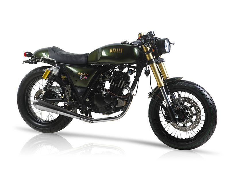 Bullit Custom Built Spirit 125 Motos Cafe Racer Projeto Café