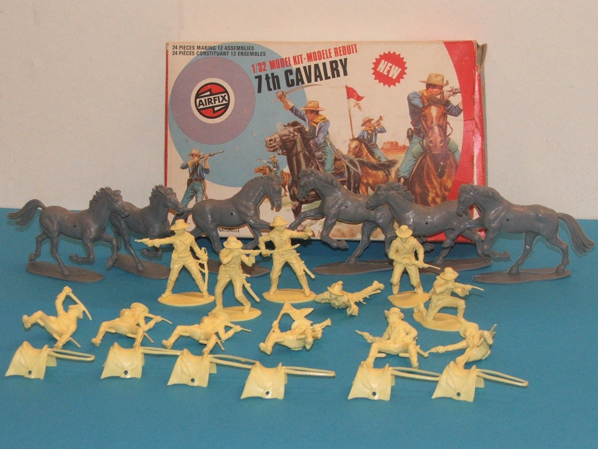 Airfix 7th Cavalry 1 32 Scale 1974