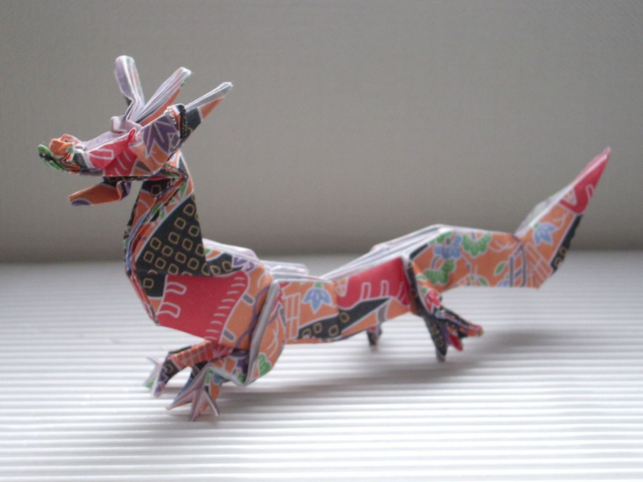 Origami Dragon | Origami Chinese Dragon | origami dragons - photo#33