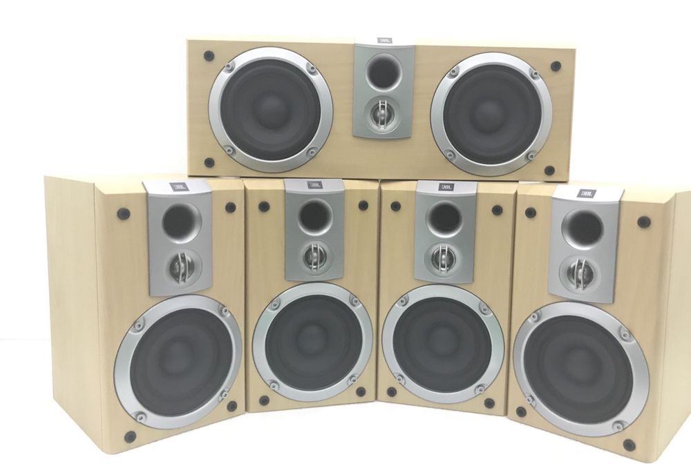 Jbl Scs 178 5 Speakers Home Theater Surround Sound System