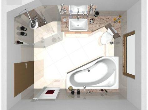 kleine badezimmer lösungen - Google-Suche БОХО Pinterest Spa - kleine badezimmer design
