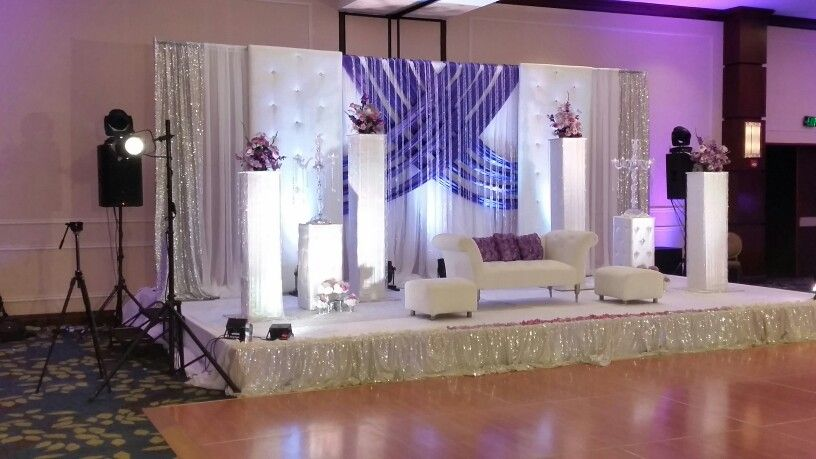 Pakistani Indian Wedding Stage By Sheila Burki Designs In Houston