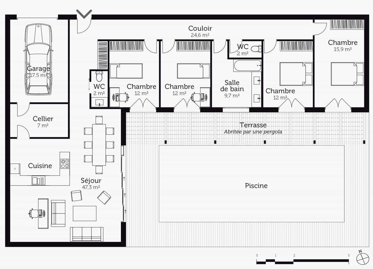 55 Grillage A Poule Mr Bricolage Casas Em Contentores Plantas De Casas Casas Avarandadas