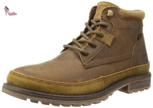 Homme Bottines mens Cat Footwear Beige Classiques Oatman 0q4AFv