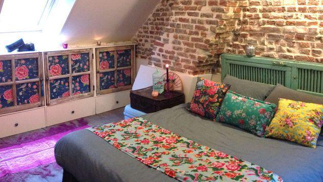 Une tête de lit à faire soi-même pour une chambre déco