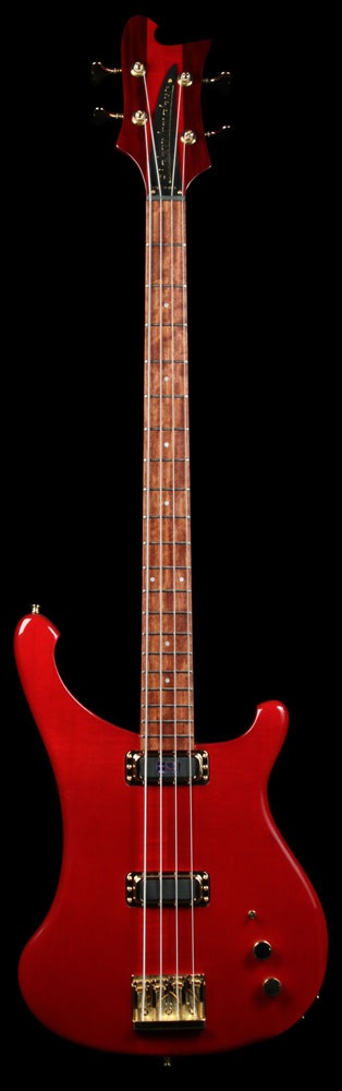 Rickenbacker 4004cii Cheyenne Transparent Red