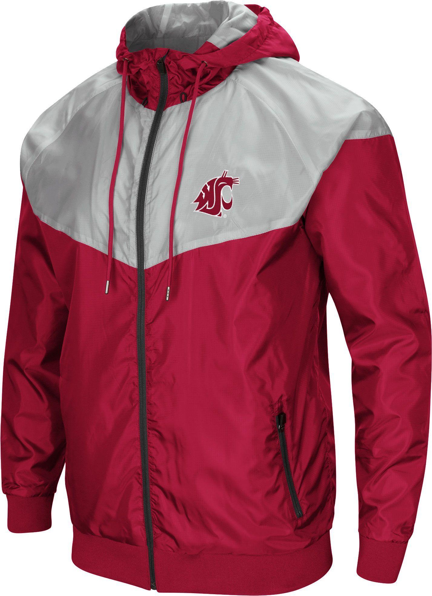 Colosseum Men's Washington State Cougars Crimson/Grey Galivanting