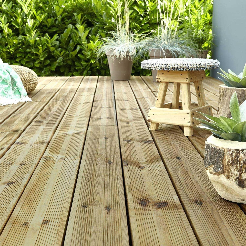Dalle Terrasse Caillebotis Lame Planche Bois Au Beton Imitation Pour Meilleur Prix Leroy Merl En 2020 Plancher Bois Caillebotis Dalle Terrasse