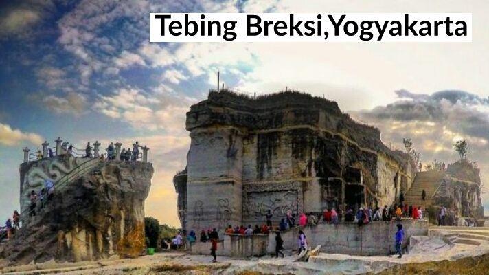 Pin By Blogalbasri On Tempat Wisata Tebing Breksi Di