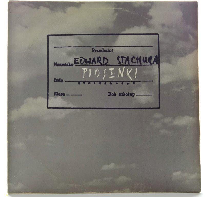 Edward Stachura Piosenki Plakat In 2020 With Images Plyty Winylowe Piosenki Rock