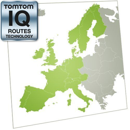 tomtom western europe coverage map TomTom Western Europe Map Update [Online Map Code] by TomTom