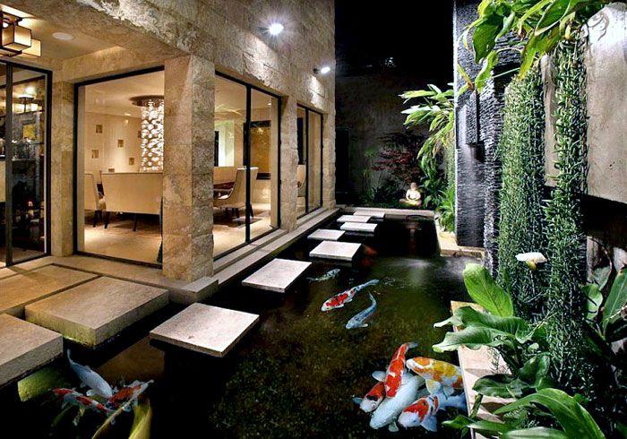 30 idées pour créer un jardin zen Japonais   Étang moderne ...
