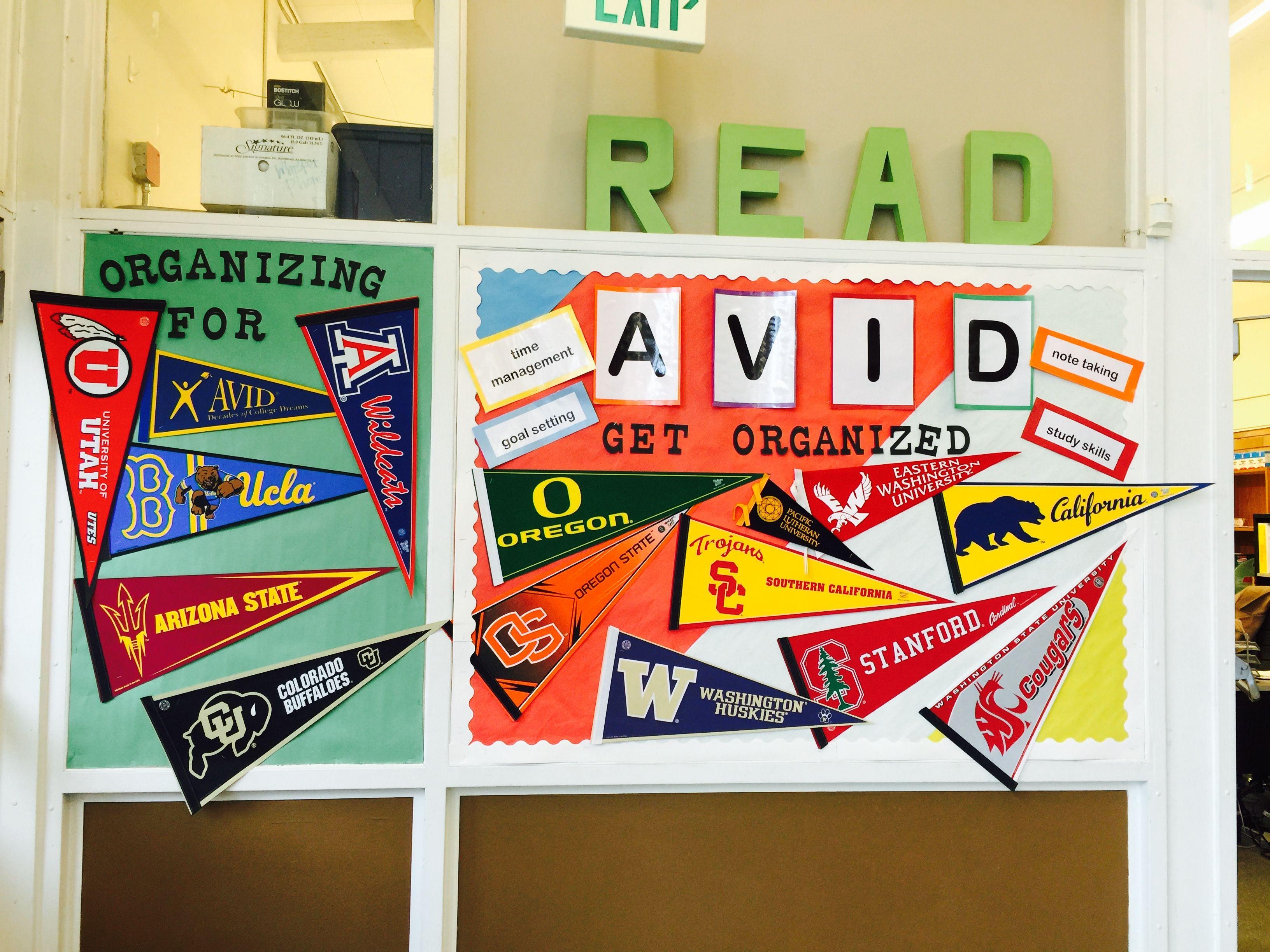 Avid Bulletin Board Examples Avid Elementary College Readiness