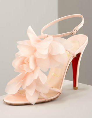 I'm drooling really unattractively right now. (Christian Louboutin Petal Sandals, neimanmarcus.com)