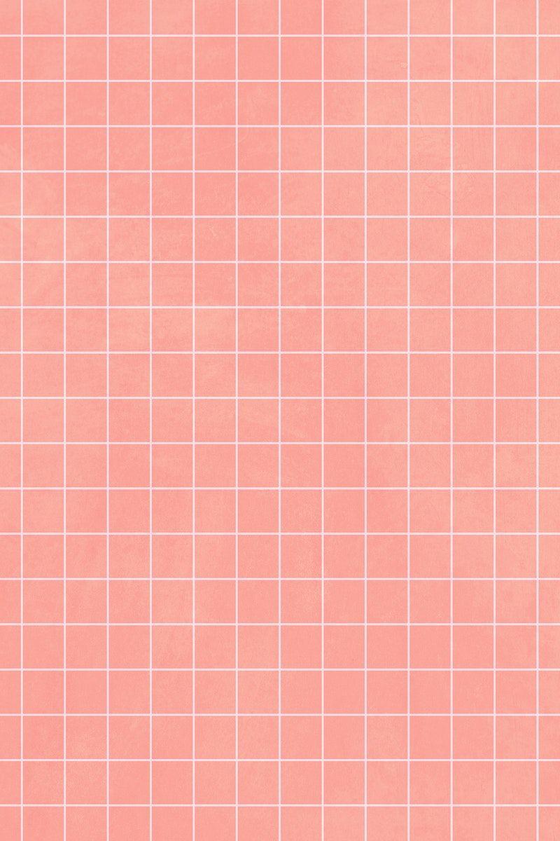 Download Premium Illustration Of Beige Tile Wall Pattern Background 2356754 In 2021 Wall Patterns Beige Tile Grid Wallpaper Aesthetic light pink grid wallpaper
