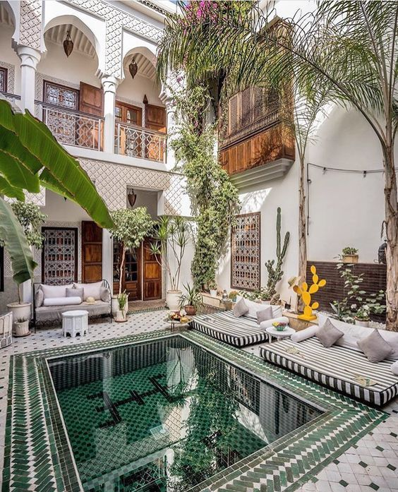 8 Exotic tips to give your home a dreamy Moroccan vibe (Daily Dream on japanese home design exterior, moroccan home architecture, scandinavian home design exterior, indian home design exterior,