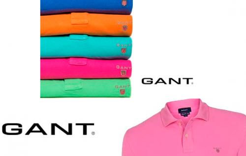 Descuentos de hasta un 60% en polos de la marca Gant