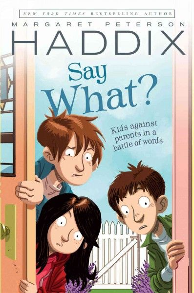 When their parents begin saying the wrong thing every time six-year-old Sukey and her older brothers misbehave, the children discover that it is a plot and fight back with their own wrong phrases.