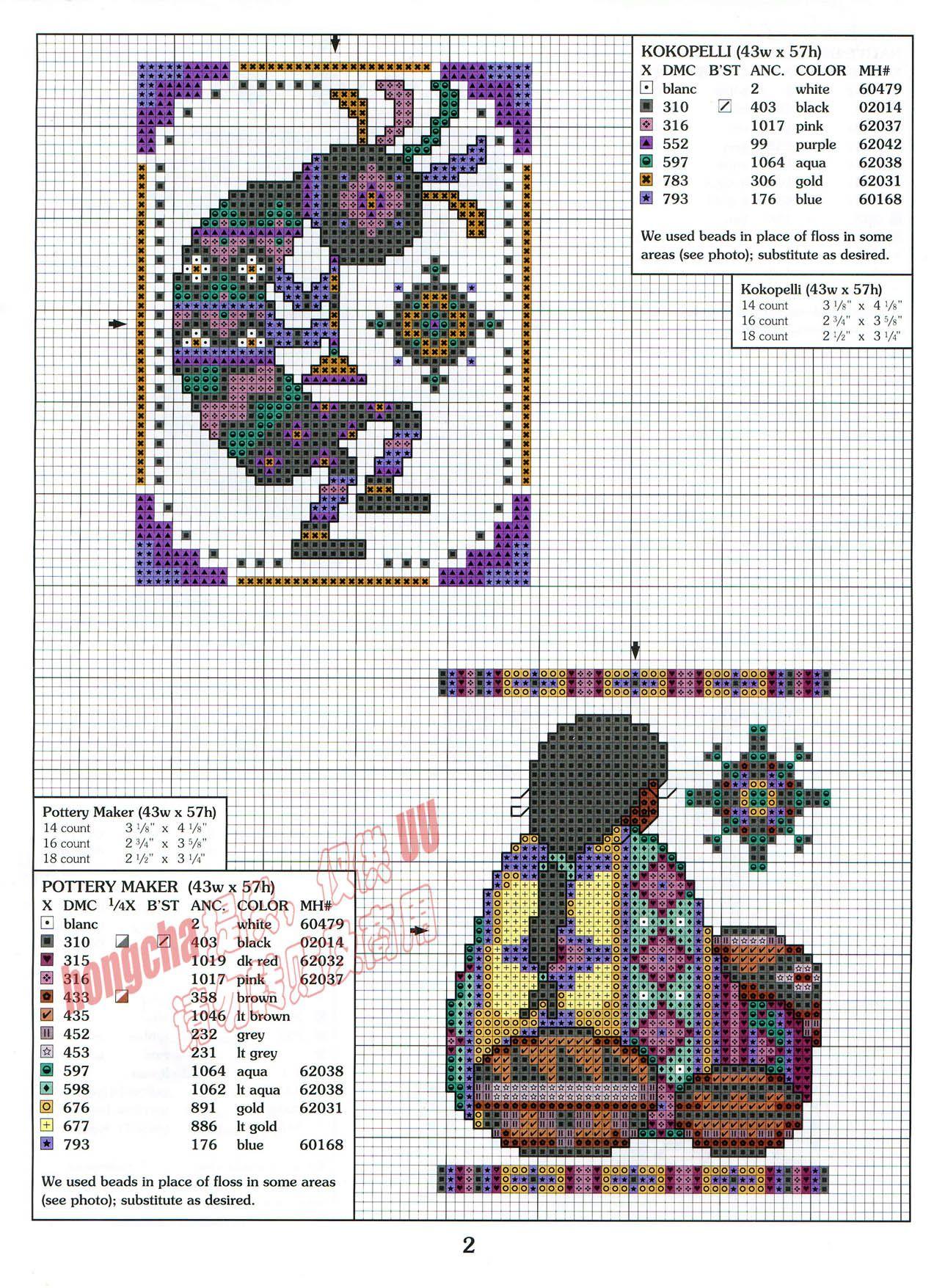 Southwest Stitches 3 Of 5 Cross Stitch Cross Stitch
