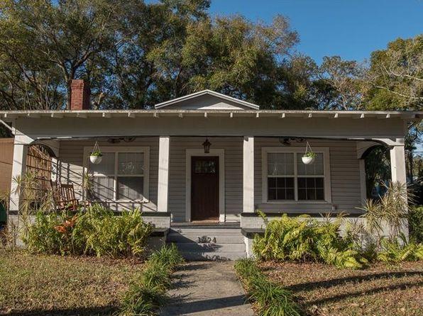 1224 E Hanna Ave Tampa Fl 33604 Zillow Seminole Heights Garage Doors Home