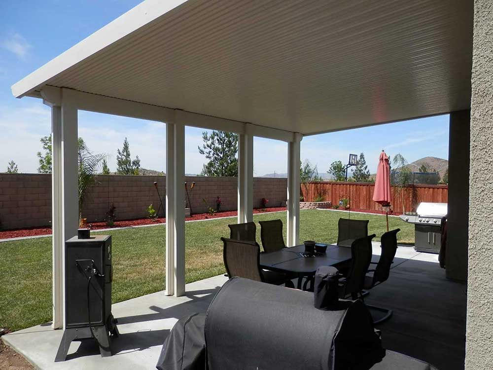 orange county solid patio cover wood