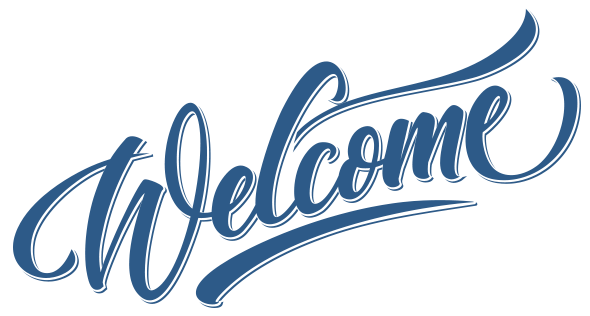 Welcome Sign Transparent Png Stickpng Welcome Words Welcome Images Welcome Sign