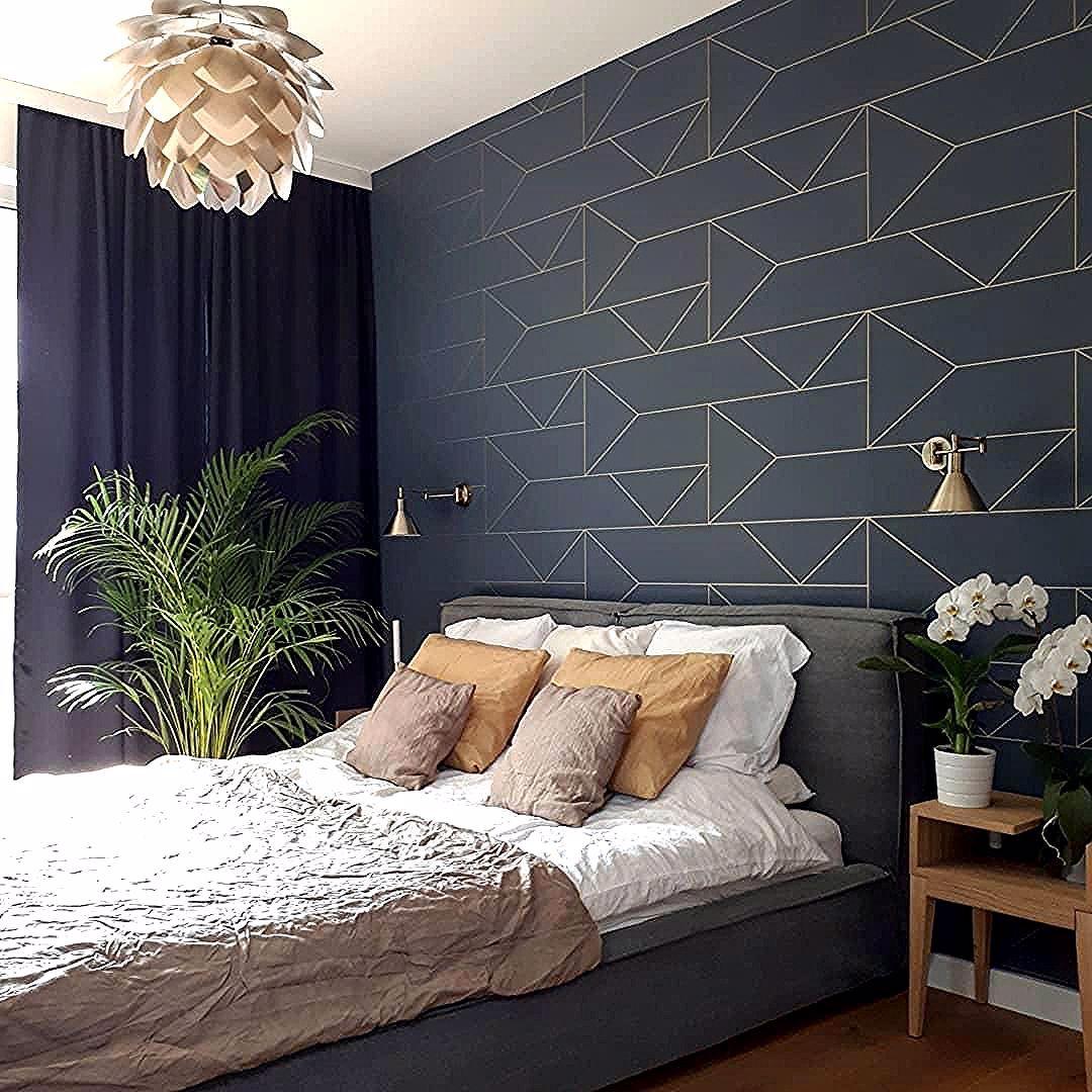 Pendelleuchte Silvia Bausatz In 2020 Bedroom Wall Designs Gold Wallpaper Bedroom Blue And Gold Bedroom