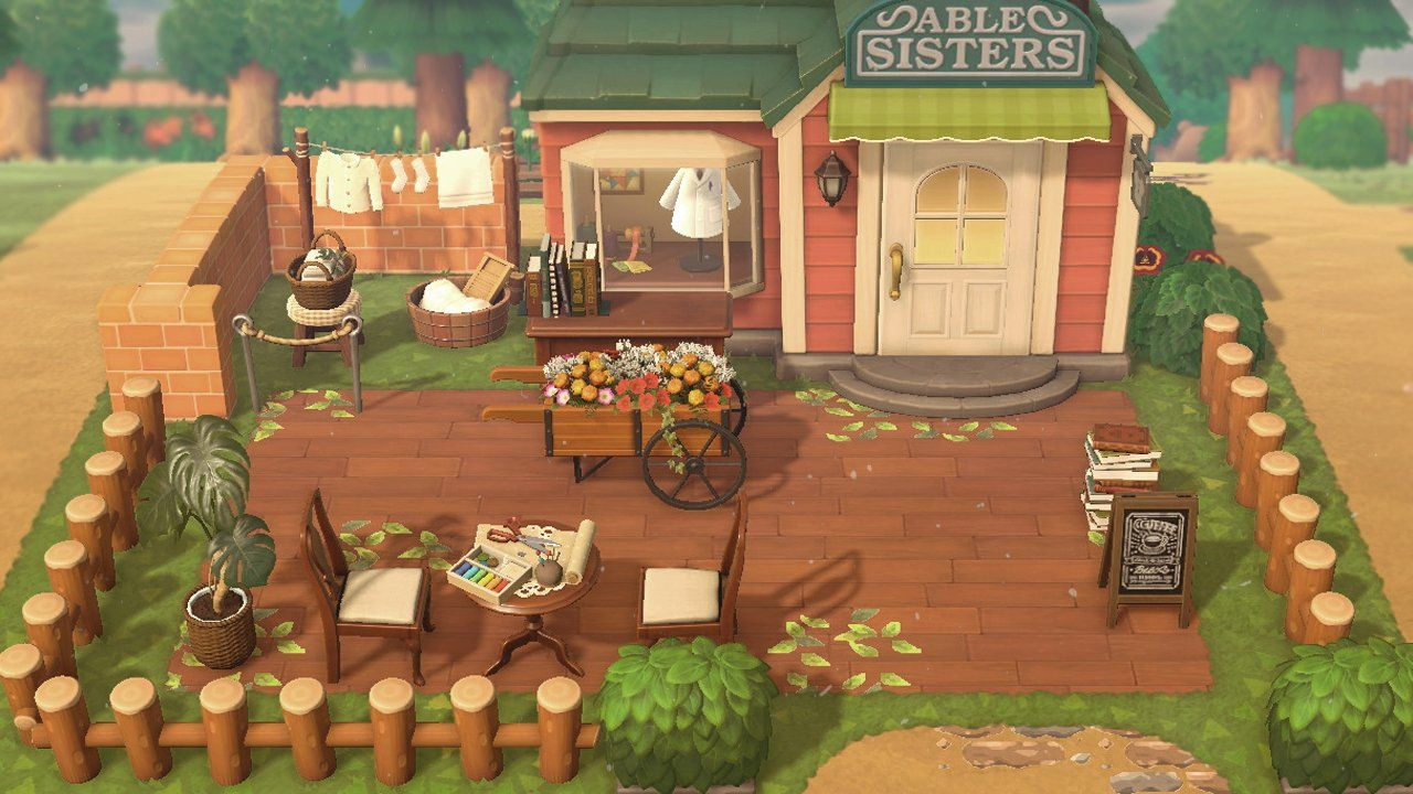 Exterior House Design Animal Crossing Map Designs Trendecors