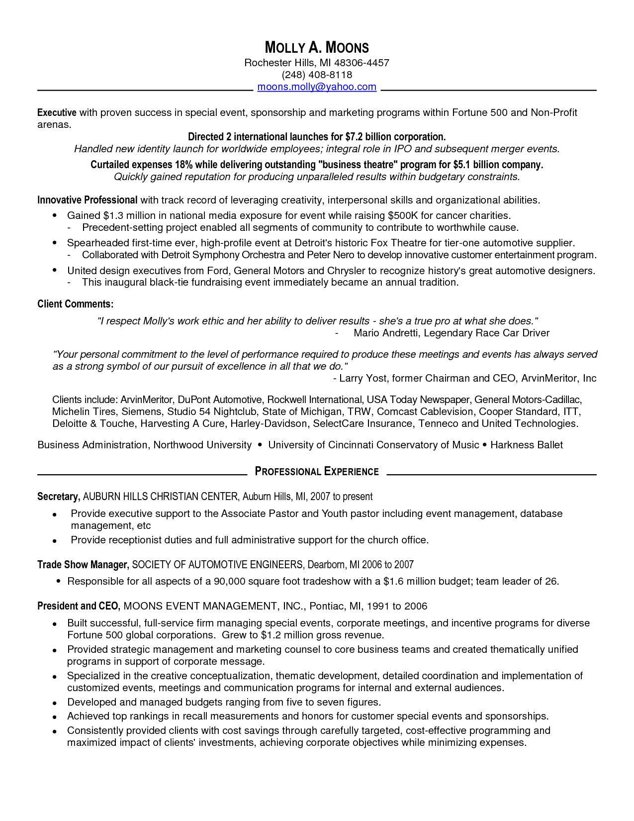 Party Planning Contract Template Zrom