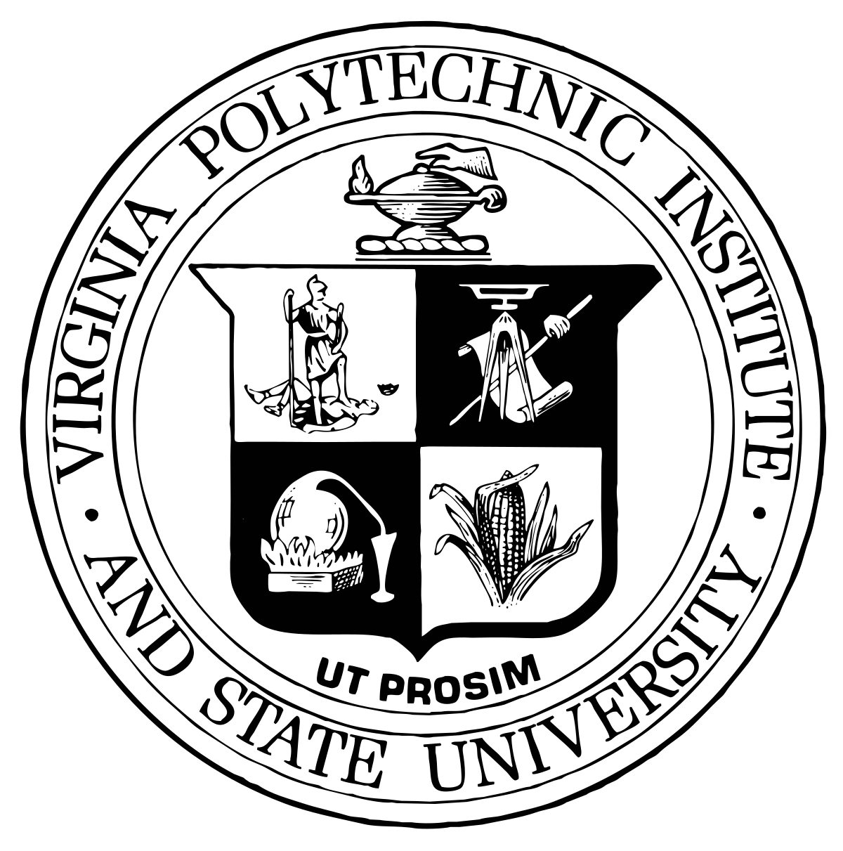Virginia Tech Wikipedia Virginia tech, University logo