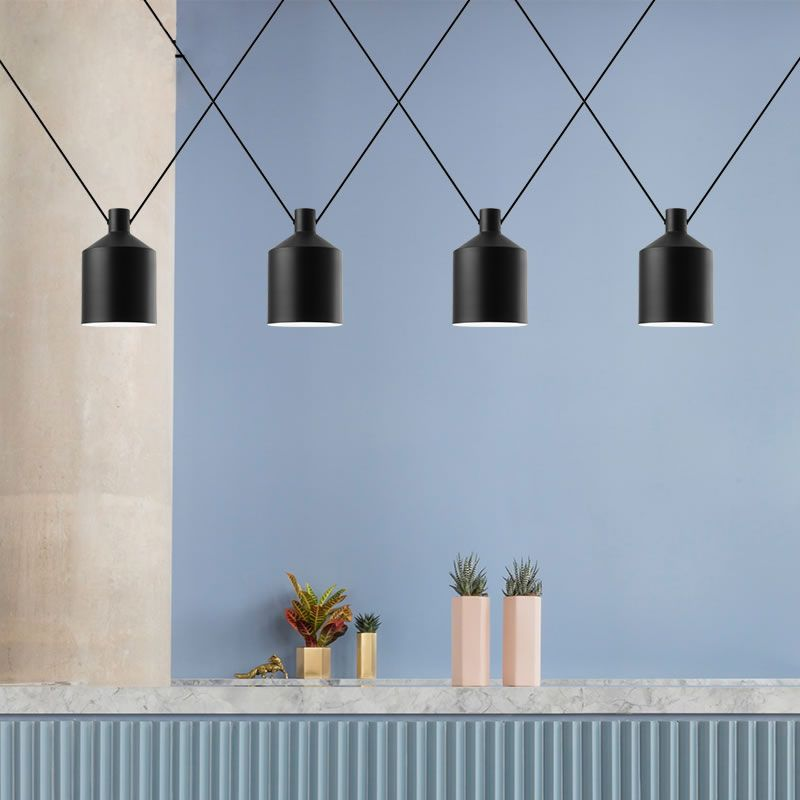 Goedkope Moderne Hanglampen loft Opknoping Verlichting Dubbele Cord ...