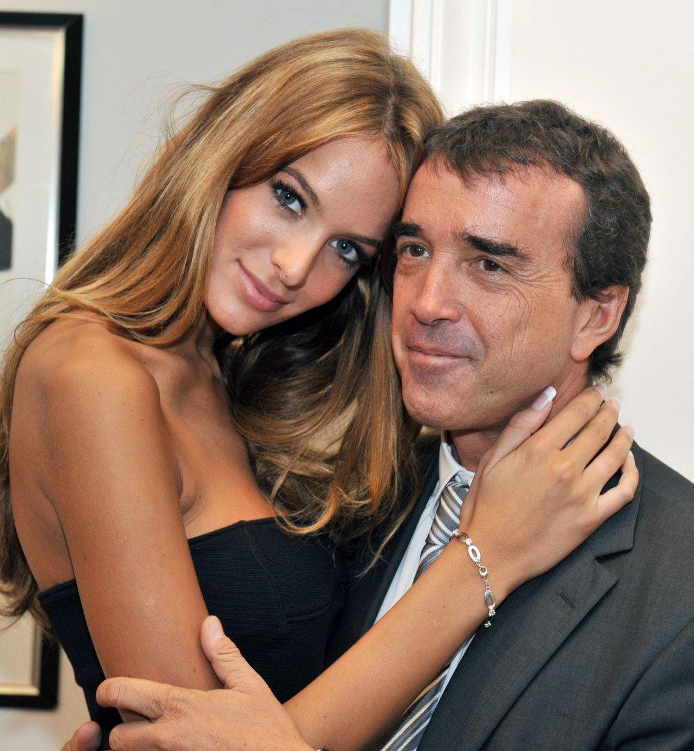 Arnaud Lagardere and Jade Foret