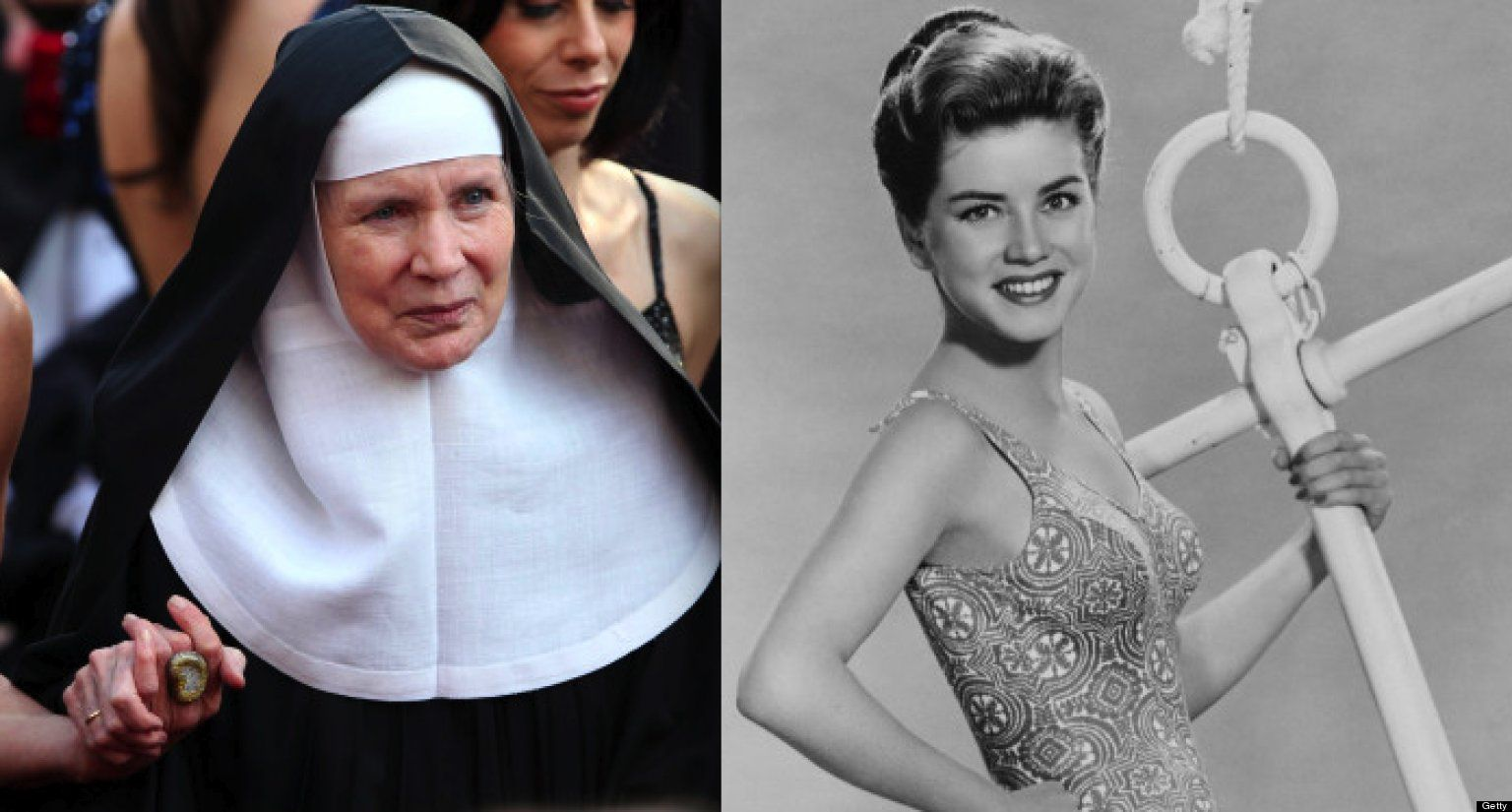 Celebs Who Wanted To Become A Priest Or Nun Yes We Re Serious Dolores Hart Famous Catholics Celebrities