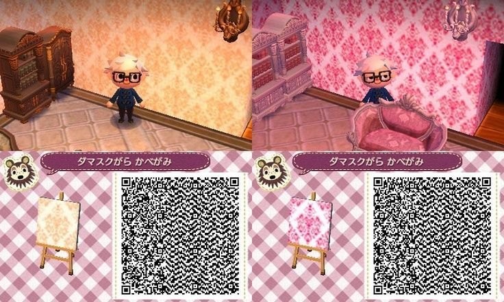 Animal Crossing New Leaf Qr Codes Wallpaper Animal Crossing Qr