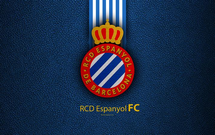 Download Wallpapers Rcd Espanyol Fc 4k Spanish Football Club La