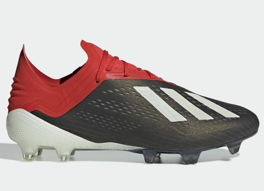 ad4d1526 #adidasfootball #footballboots Adidas X 18.1 FG Initiator - Core Black /  Ftwr White / Active Red