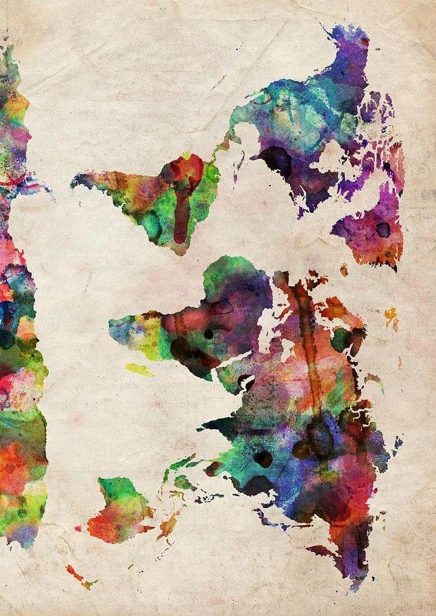 World map Fun Pinterest Wallpaper, Drawings and