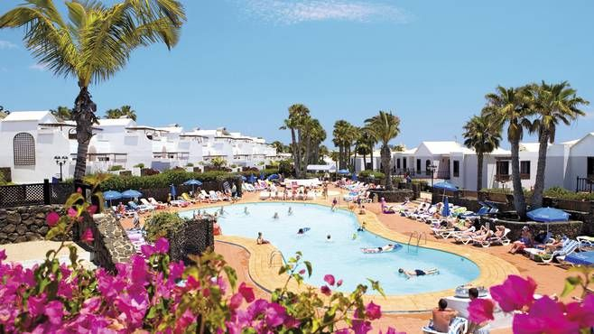 Lanzarote Holiday Village Flamingo Beach Hotel Is In 2 Parts So Ask For Room Main Part