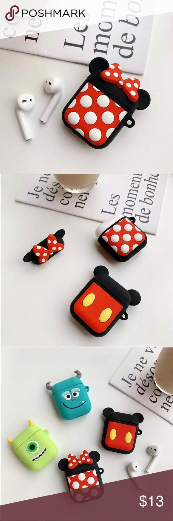 3/30 ️ Disney's Minnie Mouse AirPods Case Airpod case
