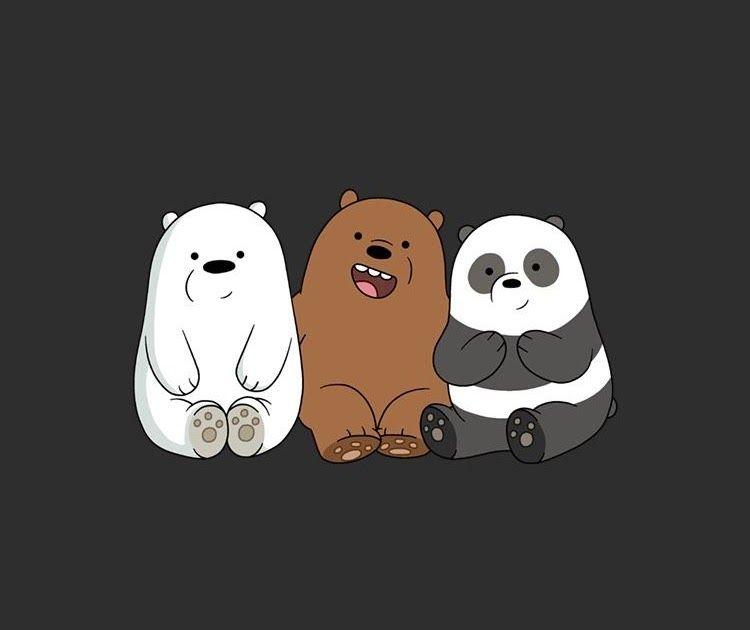 Wallpaper Lucu Hitam Panda