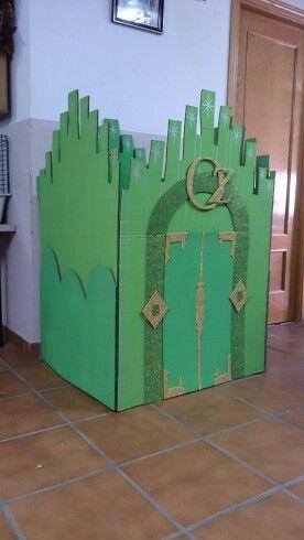 Castillo Ciudad Esmeralda | Manualidades | Pinterest | Ciudad ...