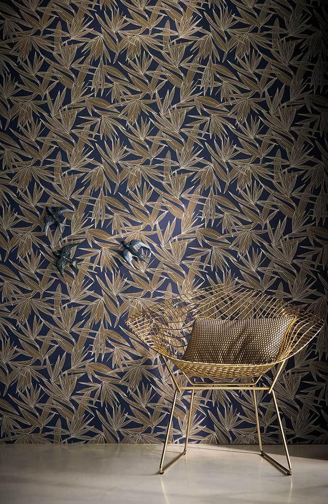 Si le papier peint pouvait parler... | Wall patterns, Interior walls ...