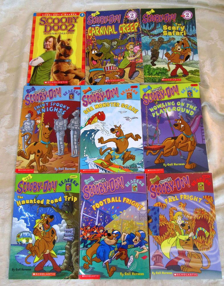 Huge Lot Of 21 Scooby Doo Books Picture Clue Readers