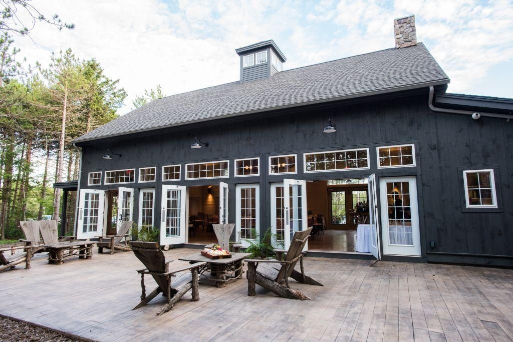 Hidden Pond, Kennebunkport, Maine ** Pole barn house