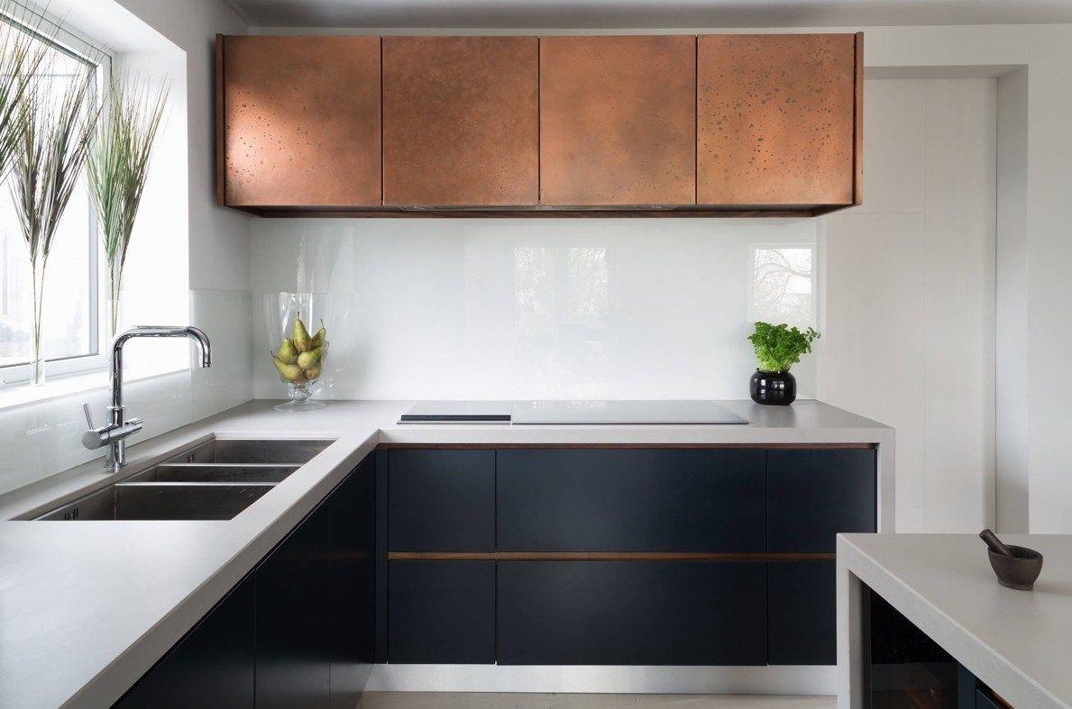 9 Awesome Copper Kitchens Design Ideas   PinZones   Black kitchen ...