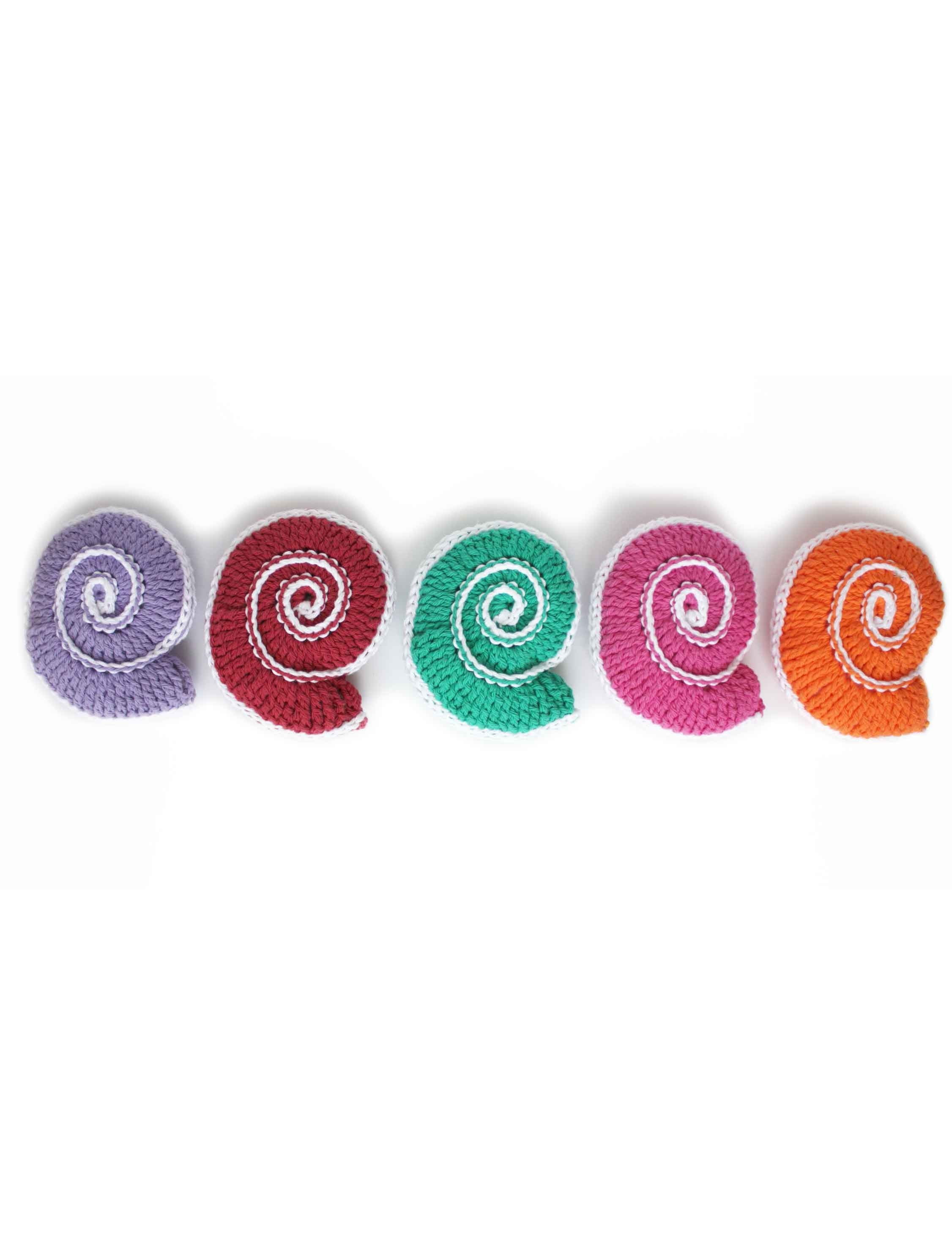 Yarnspirations.com - Lily Spiral Shell - Patterns | Yarnspirations ...