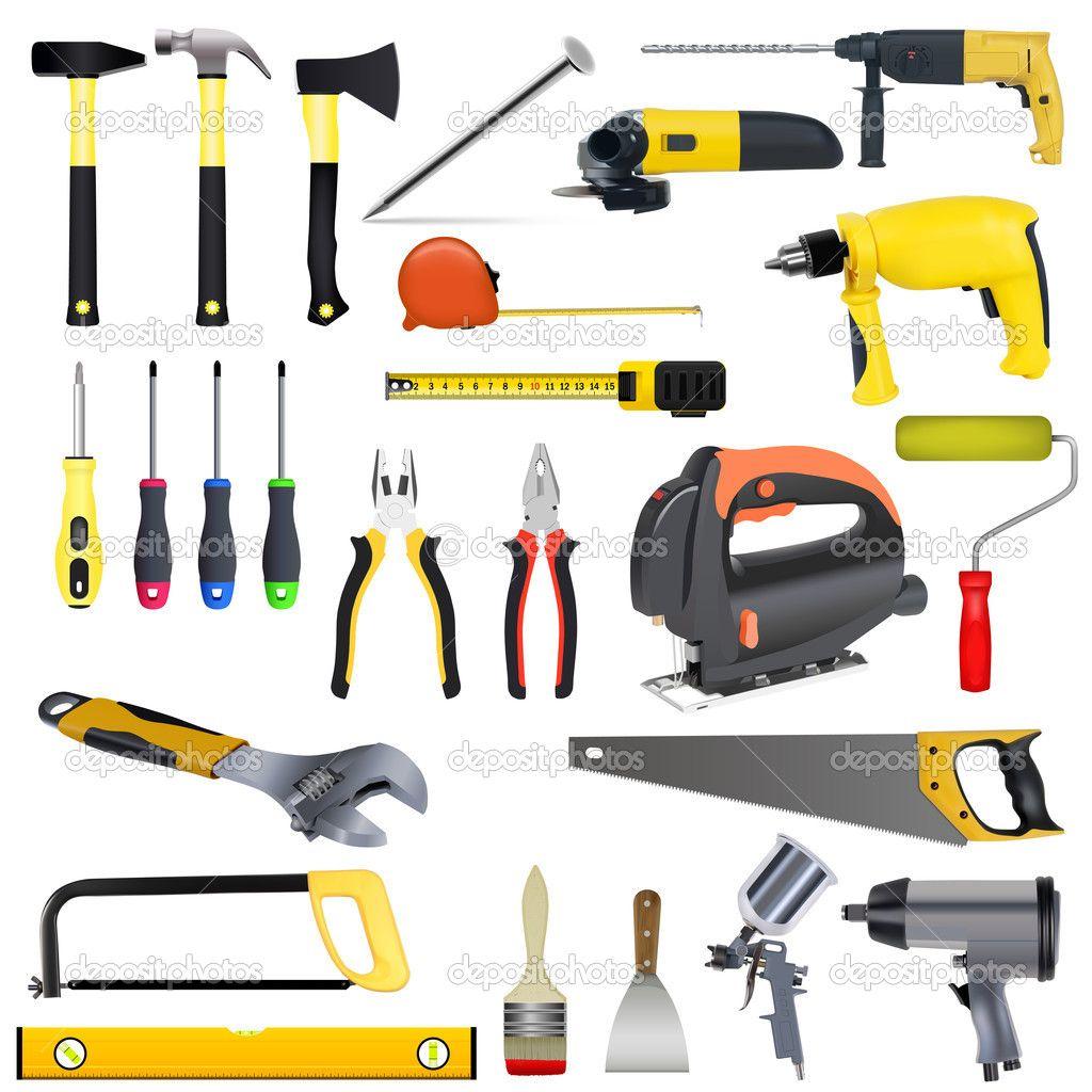 conjunto de herramientas - Ilustración de stock: 9559980