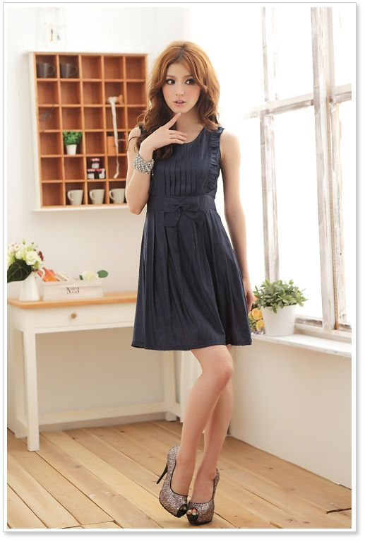 8295861c30 JK8408 BLUE Korean Fashion Dinner Dress Malaysia Online Shopping. asia  clothing wholesale jk women ...