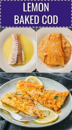 A Delicous Baked Cod With Lemon Juice And Parmesan Cheese Thats Very Low In Carbs And Keto