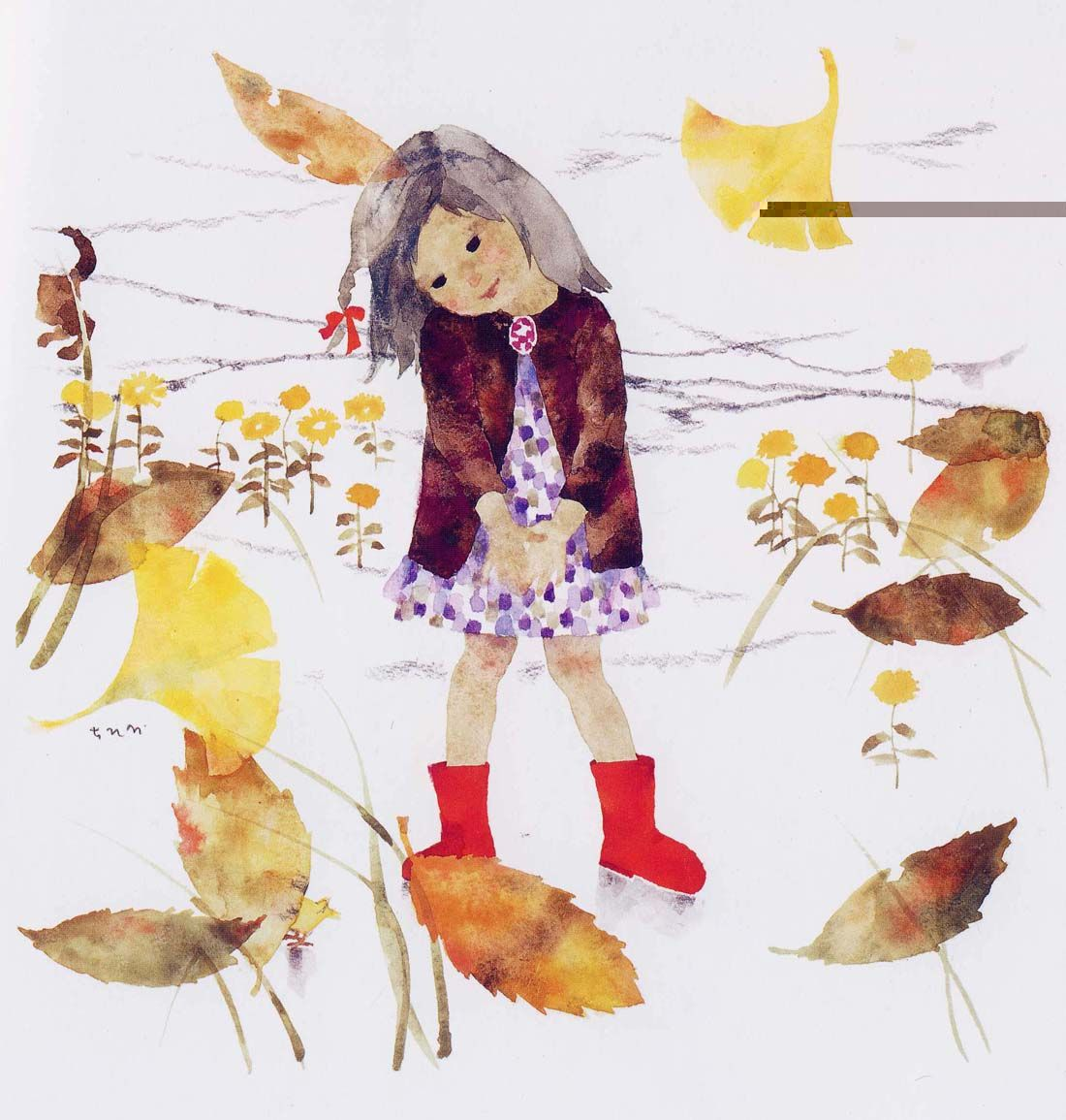 Chihiro And Totto Chan Exhibition Illustration Book